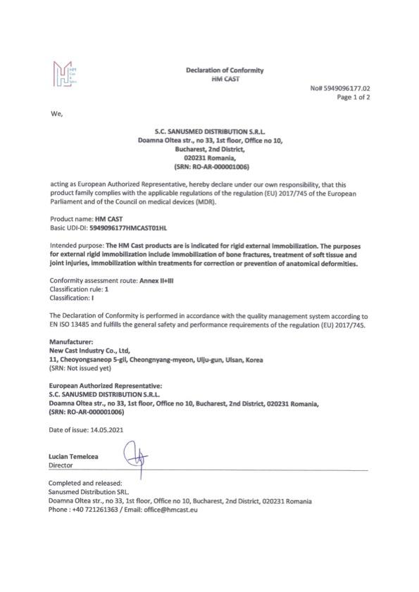 HM_Cast_Declaration_of_Conformity-05.2021
