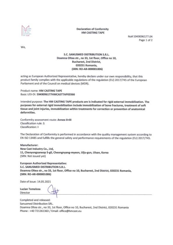 HM_Casting_Tape_Declaration_of_Conformity-05.2021