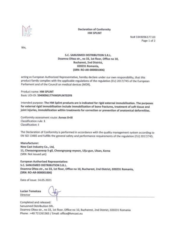 HM_Splint_Declaration_of_Conformity-05.2021